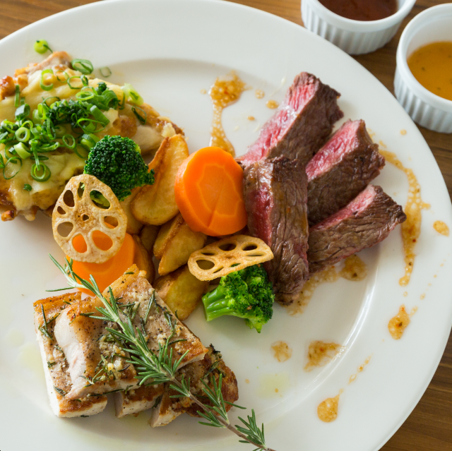 All-you-can-eat steak